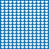 Błękitna miłości pocztówka Fotografia Stock