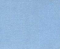 Błękitna naturalna tekstylna tekstura Fotografia Stock