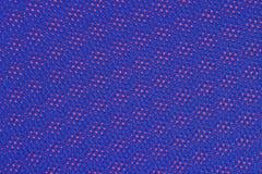 Błękitna nonwoven tkanina na czerwieni Obrazy Stock