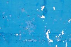 Błękitna obieranie farba Obrazy Royalty Free