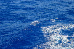 Błękitna ocean powierzchnia Fotografia Royalty Free