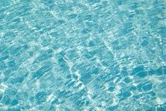 błękitna patern tekstury woda Zdjęcia Stock