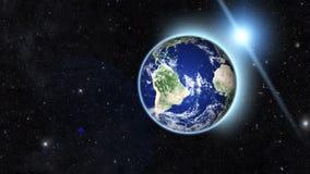 Błękitna planeta Obrazy Stock