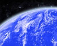Błękitna planeta Zdjęcia Royalty Free
