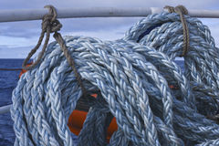 Błękitna postrzępiona statek arkana Fotografia Stock