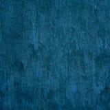 Błękitna rocznika cementu ściana Obrazy Royalty Free