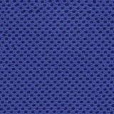 Błękitna siatki tkanina, synthetics, poliester, bezszwowa tekstura Fotografia Royalty Free