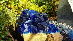 Błękitna skała obraz stock