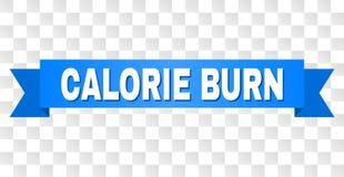 Błękitna taśma z kaloria oparzenie tytułem ilustracji
