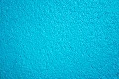 Błękitna textured betonowa ściana zdjęcie royalty free