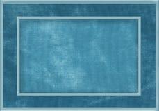 Błękitna tkaniny rama Obraz Stock