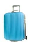 Błękitna walizka Fotografia Royalty Free