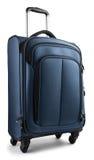 Błękitna walizka Zdjęcia Royalty Free