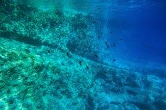 błękitna woda Zdjęcia Royalty Free