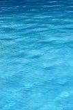 błękitna woda tło Zdjęcie Royalty Free