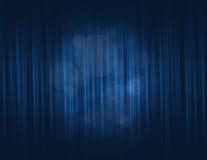Błękitna zasłona Zdjęcie Stock