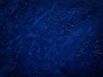 Błękitna zmięta tekstura Zdjęcie Stock