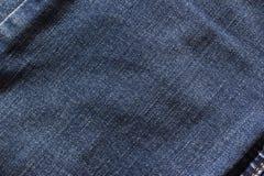 błękitnawa drelichowa tekstura Obrazy Stock
