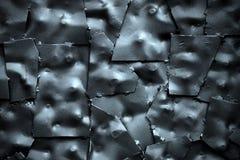 Błękitnawy metalu tło Fotografia Stock