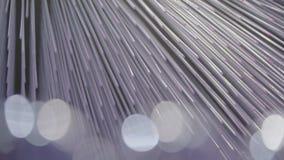 Błękitne abstrakcjonistyczne cząsteczki zbiory wideo