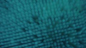 Błękitne abstrakcjonistyczne cząsteczki zbiory