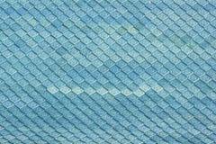 Błękitne dachowe płytki zdjęcie stock