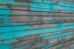 Błękitne Drewniane deski Obrazy Royalty Free