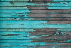 Błękitne Drewniane deski Fotografia Stock