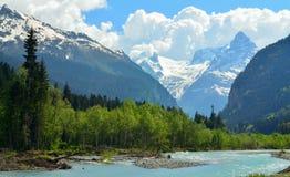 Błękitne góry Fotografia Royalty Free