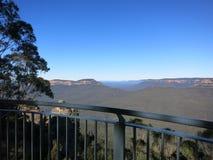 Błękitne góry Sydney NSW Fotografia Royalty Free