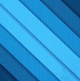 Błękitne grunge papieru linie Obraz Stock