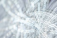 Błękitne i Srebne Marznąć Śnieżne zimy lśnienia gwiazdy Połyskują tło Wakacje, boże narodzenia, nowego roku abstrakta tekstura Zł zdjęcia stock