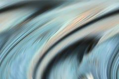Błękitne jaśnienie formy, linie, abstrakcjonistyczny tło, fantazja zdjęcie stock