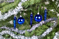 Błękitne krople Zdjęcie Royalty Free