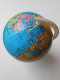Błękitne kul ziemskich mapy Obraz Stock