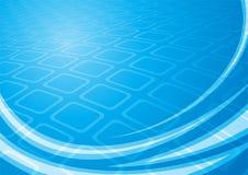 błękitne kwadraty Obraz Stock