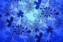 błękitne kwiaty Obraz Stock