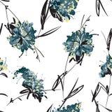 błękitne kwiaty Obrazy Stock
