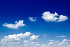 błękitne niebo. Zdjęcia Royalty Free