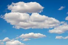 błękitne niebo. Obraz Stock