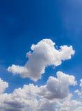 błękitne niebo Fotografia Royalty Free