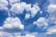 błękitne niebo Zdjęcia Stock