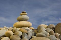 błękitne niebo peebles spa sterty runda zen. Obraz Royalty Free