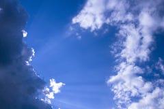 błękitne niebo tła Zdjęcie Royalty Free