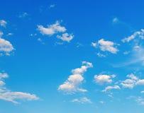 błękitne niebo tła Fotografia Royalty Free
