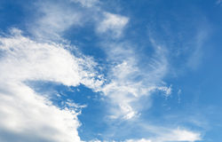 błękitne niebo tła Obrazy Royalty Free