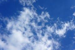 błękitne niebo tła Obraz Royalty Free