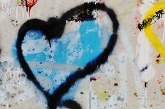 błękitne serce Obraz Stock