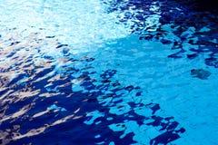 błękitne wody Obraz Stock