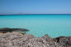 błękitne wody Zdjęcia Stock